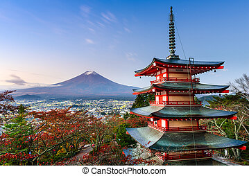Fuji in Autumn