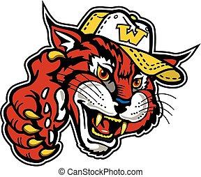 wildcat baseball mascot