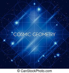 Magic Geometry Sign - Magic geometry sign Vector alchemy...