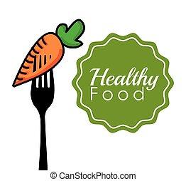healthy food design - healthy food design, vector...