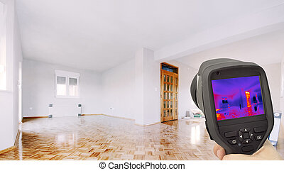Thermal Insulation of the Home - Heat Loss Detection of the...