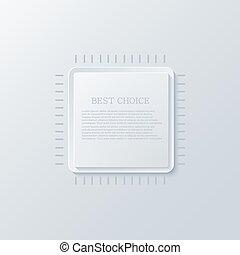 Vector modern circuit board background.