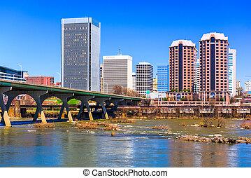Richmond Virginia Cityscape - Richmond, Virginia, USA...