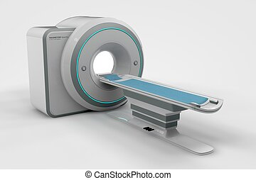 MRi - Computer rendered illustration one MRi