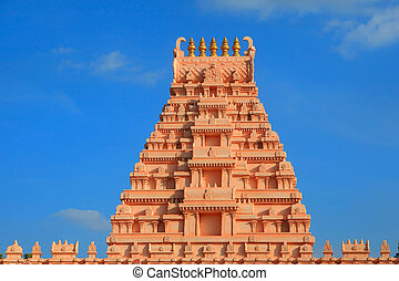 Hindu temple arcitecture - Beautiful hindu temple...