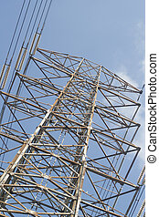 Electric hight power tower