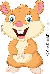 Cute mice cartoon - vector illustration of Cute mice cartoon