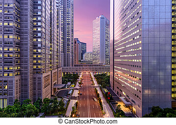 Metropolitan Government Offices of Tokyo - Tokyo, Japan...