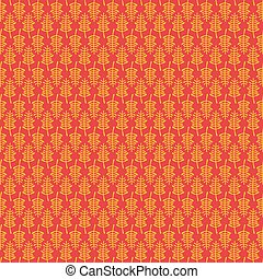 yellow leaf pattern design - creative yellow leaf with...