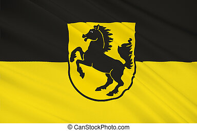 Flag of Stuttgart is the capital and largest city of the...
