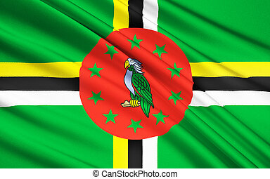 Flag of Dominica, Roseau