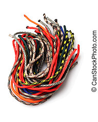 Colourful Para Cords - Bundle of Colourful Para Cords on...