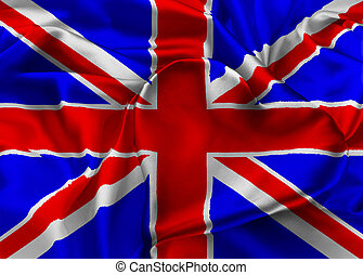 Flag of United Kingdom, London