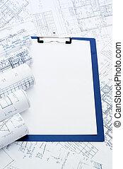 projekt, Hus, skrivplatta