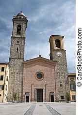 Cathedral Bobbio Emilia-Romagna Italy