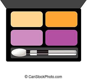 Make up illustration