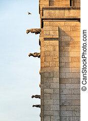 Sacred Gargoyles - Gargoyles on the side of the Basilica...