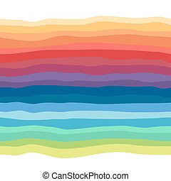 Abstract rainbow seamless background. Colorful picture of...
