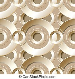 Vector  seamless pattern with  metal holes.