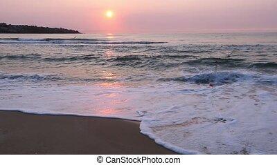 Sea Beach Sunrise View (Bulgaria).