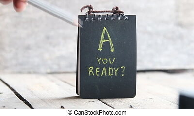 Are You Ready idea