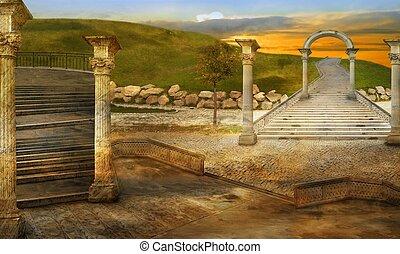 Ancient - Italian imagination