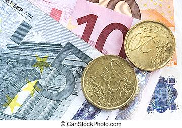 Euro background