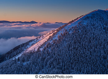 Velky Rozsutec mountain - View of the Velky Rozsutec...