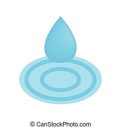 Drop spa isometric 3d icon. Oil drop isolated on a white...
