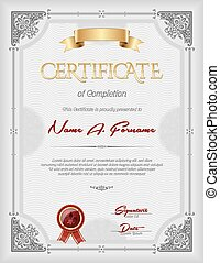 Certificate of Completion Portrait - Certificate of...