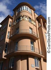 Popovic building in Zagreb, Croatia