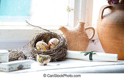 蛋, 巢, 復活節