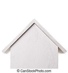 nesting box Isolated on white background