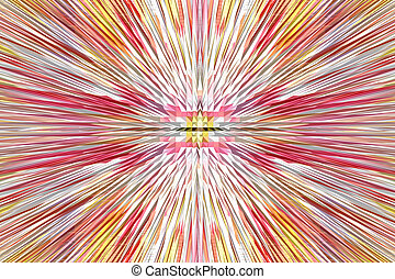Multi-coloured explosion - multi-coloured explosion is very...