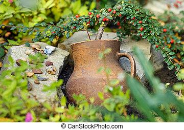 crock pot flower