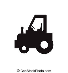 road roller. icon