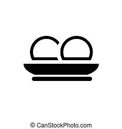 steamed dumpling icon