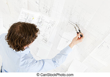 pn[5DNSFRH] Revisions of a technical drawing - Engineer...