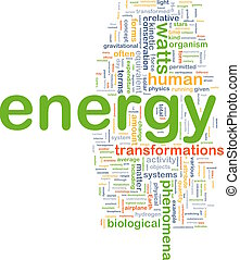 energy physics background concept - Background concept...