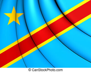 Democratic Republic of the Congo Flag - 3D Democratic...