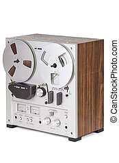 Analog Stereo Reel Recorder Player - Analog Stereo Reel Tape...