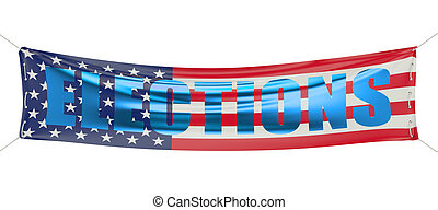 概念, 旗幟, 選舉, 美國