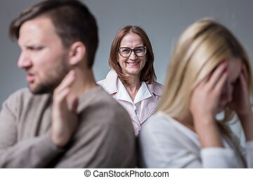 Mean and intrusive mother - Photo of marital conflict and...