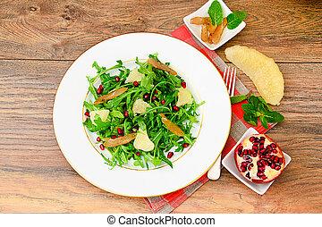 Salad Mix Batavian, Frise, Radicchio, Chicory, Cranberry and...