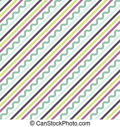 Diagonal oblique line pattern - Diagonal oblique green,...