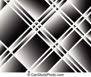 Abstract shattered surface pattern texture Grayscale vector...