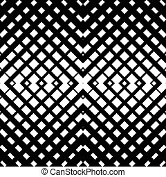 Abstract grid mesh pattern with intersecting lines Symmetric...