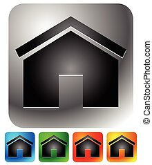 House icons - Home, apartment, rent, home, homepage or...