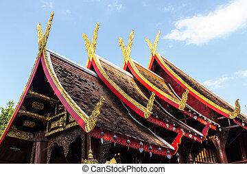 Thai Chapel Wood, Lanna Style