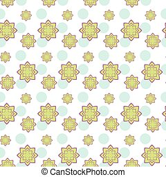 Succulent green and purple seamless pattern - Succulent...